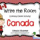 Write the Room Literacy Center - Canada + mini book FREEBIE!