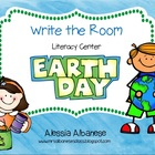 Write the Room Literacy Center - Earth Day