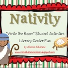 Write the Room Literacy Center - Nativity