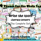 Write the Room Literacy Centers - The Complete Set
