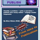 Write to Publish Essays - Gr 8 - 12 CCSS Aligned