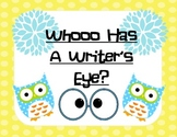 Writer's Eye Owl Theme