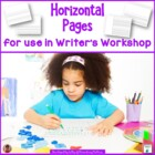 Writer's Workshop Horizontal Paper