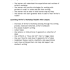 Writers Workshop Launch Mini Lessons and Notebook Resources