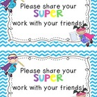 Writer's Workshop Sharing Cards [Freebie!]