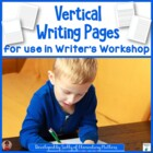 Writer's Workshop Vertical Paper