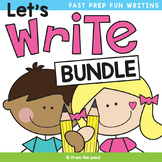 Writing Bundle - Let's Write! Writing Stimulus Cards and Prompts