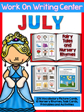 Writing Center Fairy Tales and Nursery Rhymes Picture Card
