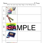 Writing Centers - Printable, Ready to Use! PreK-1 Literacy