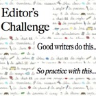 Writing Challenge: editing and revising activities
