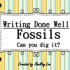 Writing Done Well Fossils Kit