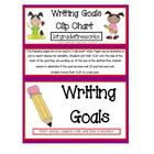 Writing GOALS Clip -Charts