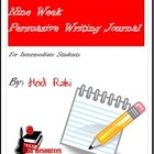 Writing Journal: Genre - Persuasive