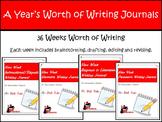 Writing Journals - A Year's Worth of Writing for Specific Genres