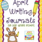 Writing Journals {April}