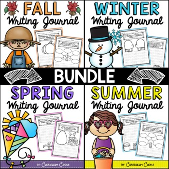 Writing Journals for the ENTIRE Year {K-2} NO PREP!