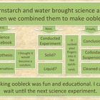 Writing Lesson:  Oobleck (Cornstarch and Water)