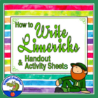 Writing Limericks Handout and Activity Sheet