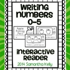 Writing Numbers 0-5 Interactive Reader