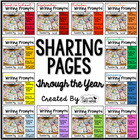 Writing Pages for Class Share Time ~ Sharing Pages Through