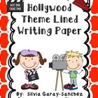 Writing Paper Hollywood Theme