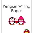 Writing Paper (Penguin)