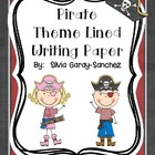 Writing Paper PirateTheme