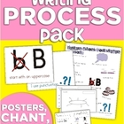 Writing Process Pack (Posters, Chant, Conferencing Sheet & More!)