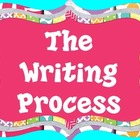 Writing Process Posters-Pink