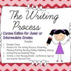 Writing Process Posters for the Junior Intermediate Grades