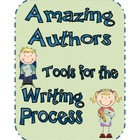 Writing Process for Amazing Authors, Classroom Tools