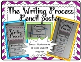 Writing Process posters- Cheveron