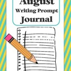 "Writing Prompt ""Journal"" for August (4th-8th)"