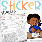 Writing Prompt Labels-Perfect for Centers or  Work on Writ
