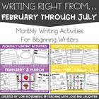 Writing Right From February Through May Bundle