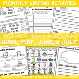 Writing Right Through...April & May