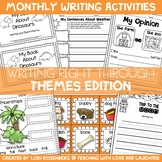 Writing Right Through...Themes Edition