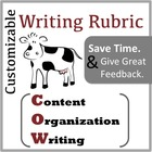 Writing Rubric for Content Areas: The COW Rubric