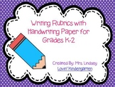 Writing Rubrics for K-2