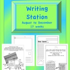 Writing Station / Center August to December- 17 weeks
