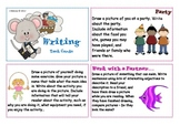 Writing Task Cards (British/Australian Version)