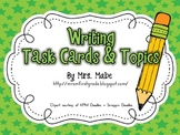 Writing Task Cards & Topics to Write About