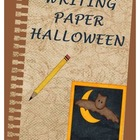Writing Paper - Halloween