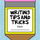 Writing Tips and Tricks Craftivity