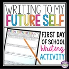 Writing To My Future Self: First Day Activity For Middle/H