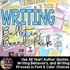 Writing Workshop Bulletin Board Pack