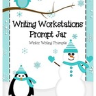 Writing Workstation Jar of Winter Writing Prompts