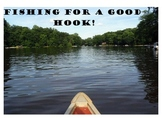 Writing a Good Hook - Fishing For A Hook Activity