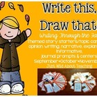 Write This & Draw That!{writing story starters with topics