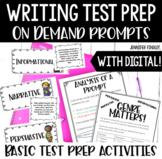 Writing on Demand Prompts {Preparation for State Writing A